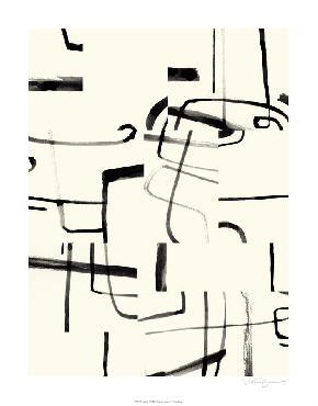 Victoria Barnes Interface II Giclee Canvas