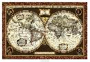 Vision Studio Decorative World Map