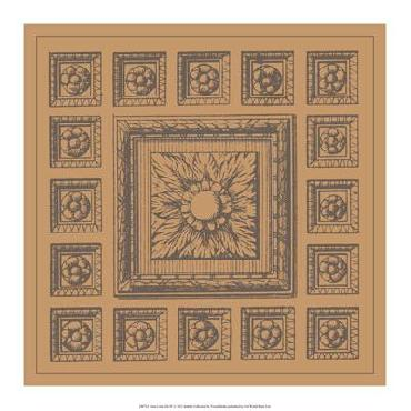 Vision Studio Terra Cotta Tile IV Open Edition Giclee
