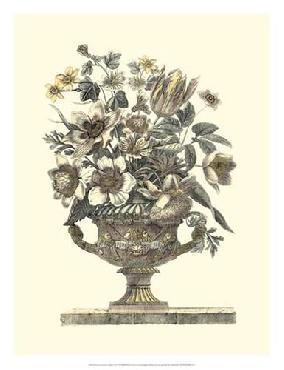 Giovanni Battista Piranesi Flowers In An Urn I (sepia)