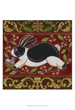 Vision Studio Folk Rabbit I