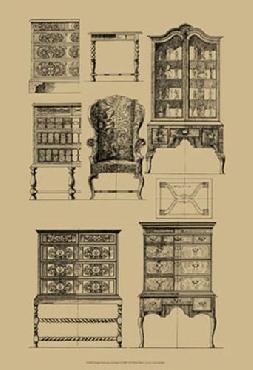 Vision Studio English Baroque Furniture
