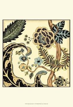 Chariklia Zarris Small Jacobean Tile I (p) Canvas
