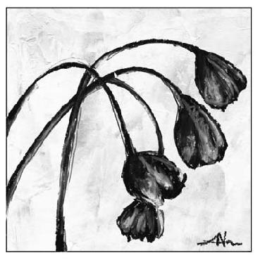 Vision Studio Mini Swooning Tulips I