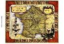Vision Studio Medium Wine Map (h) II