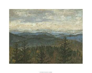 Megan Meagher Blue Ridge View II Limited Edition Giclee