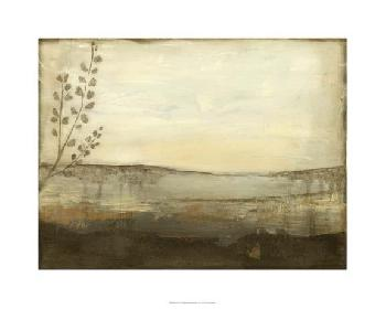 Jennifer Goldberger Horizon I Giclee on Canvas