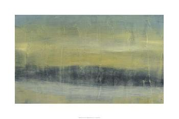Jennifer Goldberger Abstracted Skyline II Limited Edition Giclee