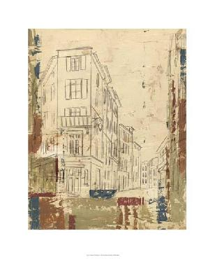 Ethan Harper Streets Of Downtown I Limited Edition Giclee