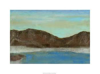 Jennifer Goldberger Pacific Rim II Giclee on Canvas