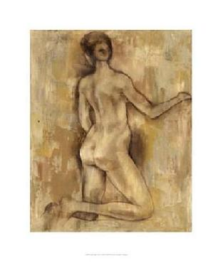 Jennifer Goldberger Nude Figure Study I Limited Edition Giclee