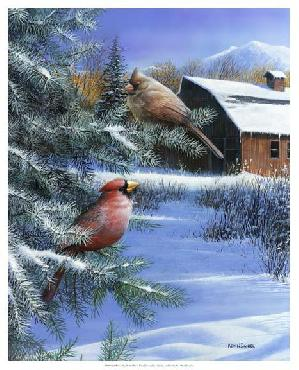 Kevin Daniel A Winter Day Giclee Canvas
