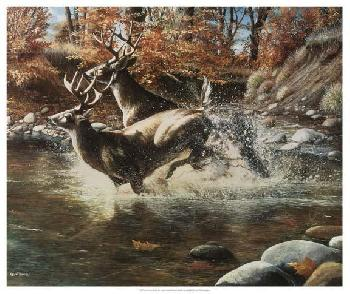 Kevin Daniel On The Run Giclee on Canvas