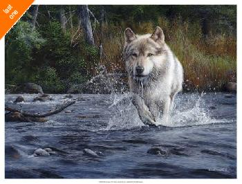 Kevin Daniel The Crossing Giclee Canvas LAST ONES IN INVENTORY!!