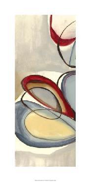 Jennifer Goldberger Circular Reasoning II Giclee on Canvas