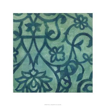 Megan Meagher Persian Motif I Limited Edition Giclee