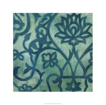 Megan Meagher Persian Motif III Giclee Canvas