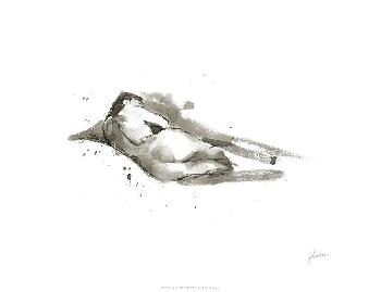 Ethan Harper Ink Figure Study III Limited Edition Giclee