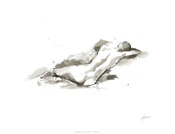 Ethan Harper Ink Figure Study V Giclee Canvas
