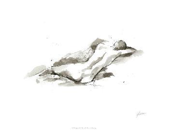 Ethan Harper Ink Figure Study V Limited Edition Giclee