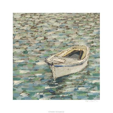 Megan Meagher On The Pond II Giclee Canvas