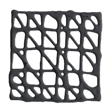 Jennifer Goldberger Decograph D In Black 6x6 Multi-Original