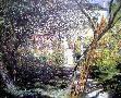 Claude Monet Garden at Vetheuil