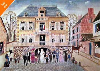 Rodolphe Rousseau Wedding NO LONGER IN PRINT - LAST ONES!!