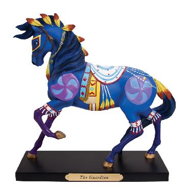 Ron Barker The Guardian Trails of the Painted Ponies - Figurine