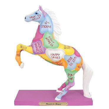 Jackie Thompson Heart To Heart Trails of the Painted Ponies - Figurine Retired