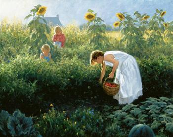 Robert Duncan Under the Sunflowers