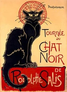 Theophile Alexandre Steinlen Tournee du Chat Noir Giclee on acid free paper