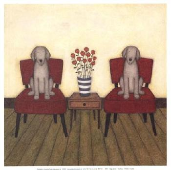 Helga Sermat Two Dogs