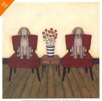 Helga Sermat Two Dogs   LAST ONES IN INVENTORY!!