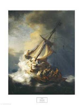 Rembrandt Van Rijn Storm on the Sea of Galilee