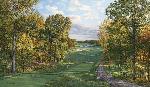 Linda Hartough 4th Hole, Black, Bethpage State Park - 2002 US Open