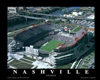 Brad Geller Nashville - Tennessee Titans Coliseum
