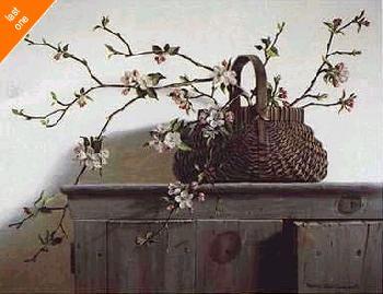 Pauline Eble Campanelli Apple Blossoms   LAST ONES IN INVENTORY! LAST ONES IN INVENTORY!!