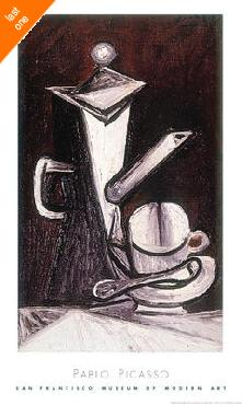 Pablo Picasso COFFEE POT NO LONGER IN PRINT - LAST ONE!!