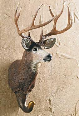 Wild Wings Mule Deer Wall Hook