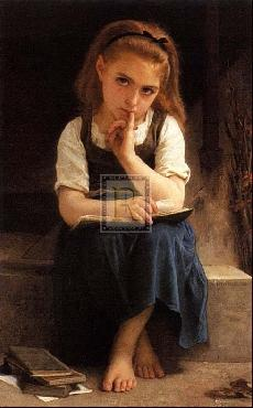 William Adolphe Bouguereau Pause For Thought