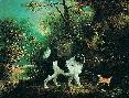 Charles Henry Schwanfelder Nelson With A Terrier