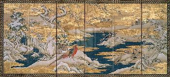 ANONYMOUS JAPANESE SCREEN II