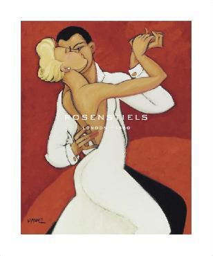 Marsha Hammel Tango Valentino Signed Limited Edition of 250