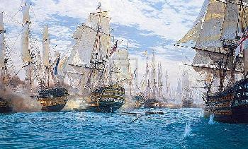 Steven Dews Battle Of Trafalgar Limited Edition of 1805