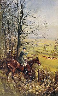Lionel Edwards His Grace The Duke Of Beaufort Gouttelette