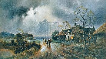 James Gozzard Calm After The Storm Gouttelette