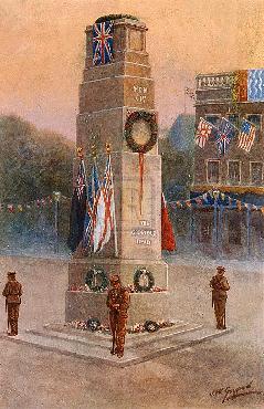 James Gozzard The Memorial To Our Glorious Dead Gouttelette