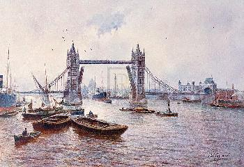 James Gozzard Tower Bridge Gouttelette