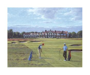 Peter Munro 18th At Royal Lytham And St. Annes Gouttelette